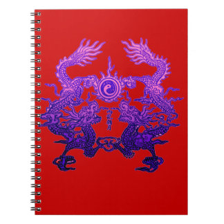 CHINESE NEW YEAR Purple Dragons Notebooks