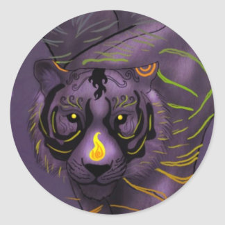 Chinese Zodiac Tiger Sticker