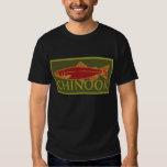 Chinook salmon t-shirts