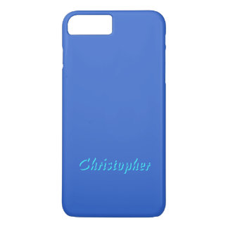 Chistopher Soft Blue iPhone 7 case