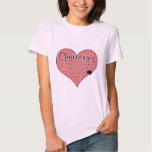 Chiweenie Paw Prints Dog Humour T Shirts