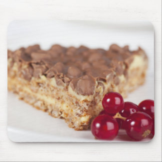 Chocolate Almond Cake and Currants Mousepads