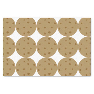 "Chocolate Chip Cookie 10"" X 15"" Tissue Paper"