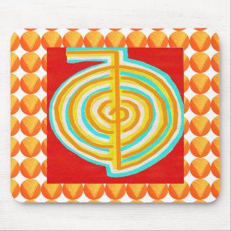 CHOKURAY : CHO KU RAY Reiki Healing Symbol Mouse Pad