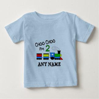 Choo Choo I'm 2!  With TRAIN T Shirts