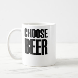 Choose beer: eighties mug