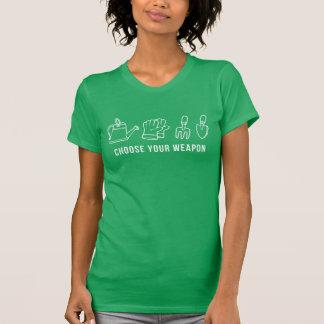 Choose Your Weapon Gardening T Shirt