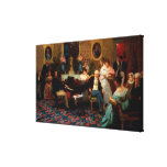 Chopin Playing the Piano Gallery Wrapped Canvas