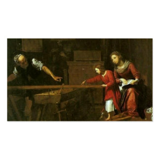 Christ in Joseph's workshop circa 1610-1625 Pack Of Standard Business Cards