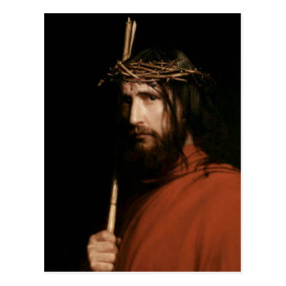 Christ with Thorns. Fine Art  Postcards