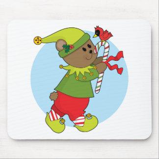 Christmas Bear Mouse Pad