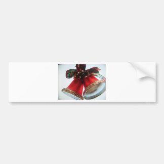 christmas bells bumper sticker