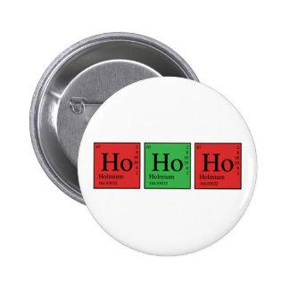 Christmas Chemistry 6 Cm Round Badge