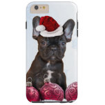 Christmas French Bulldog iPhone 6 plus case