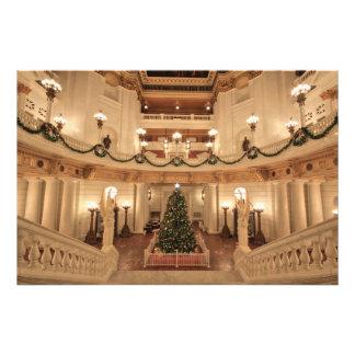 Christmas Holiday at Pennsylvania State Capitol Photo Art