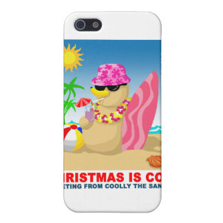 Christmas is cool, greeting from coolly the sandma case for the iPhone 5