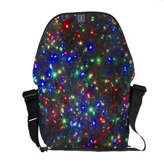 Christmas lights, Portland, Oregon Courier Bag