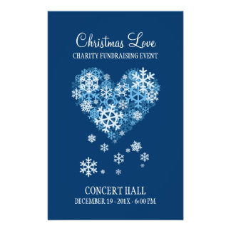 Christmas Love Charity Event flyer