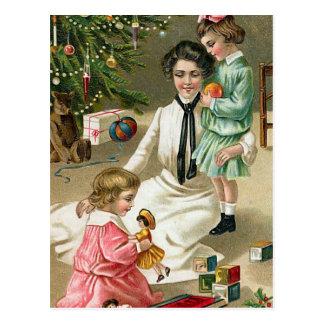 """""""Christmas Morning"""" Postcard"""