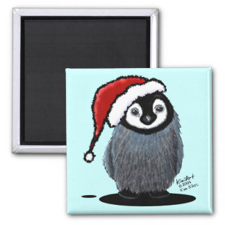 Christmas Penguin Chick Magnet