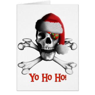 Christmas Pirate Holiday Card