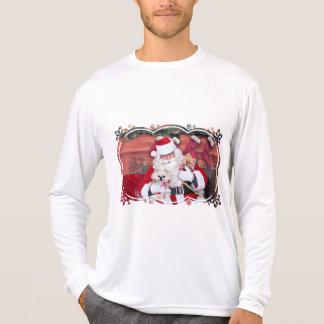 Christmas - Pomeranian - Toby & Andy T-shirts