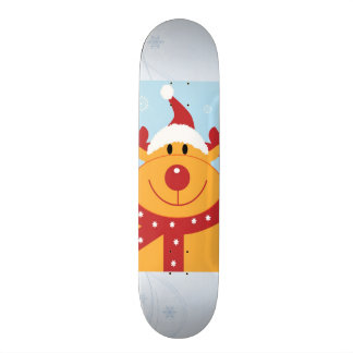 Christmas Reindeer Skateboard