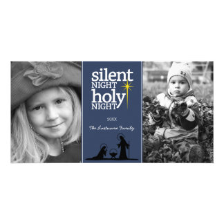 Christmas - Silent Night Holy Night - Photo Cards