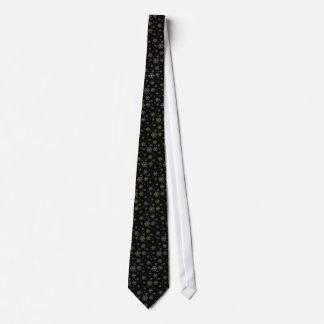 Christmas Silver Snowflake Men's Tie