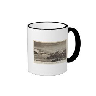 Christmas Sound, Tierra del Fuego, Chile Ringer Mug