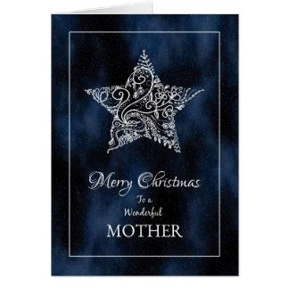 Christmas Star Mother Christmas Card