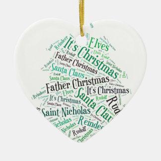 Christmas Tree Green.jpg Ceramic Heart Decoration