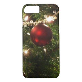 Christmas Tree I Holiday Pretty Green and Red iPhone 7 Case