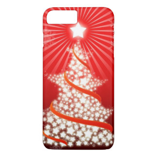 Christmas Tree Red iPhone 7 Plus Case