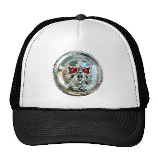 CHROME SKULL CAP