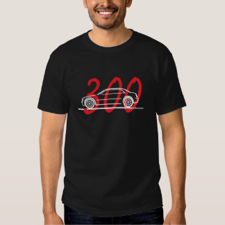 Chrysler 300C with Type Tee Shirts