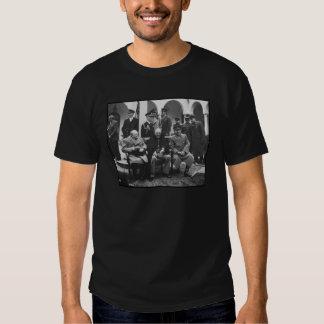 Churchill, Roosevelt, and Stalin Tshirts