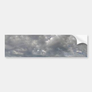 Churning Clouds Bumper Sticker
