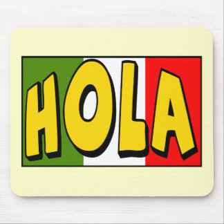 Cinco de Mayo Hola T-shirts and Gifts Mouse Pad