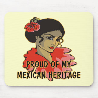 Cinco de Mayo Mexican Hertiage T-shirts and Gifts Mouse Pad