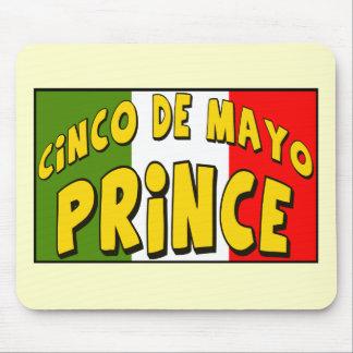 Cinco de Mayo Prince T-shirts and Gifts Mouse Pad