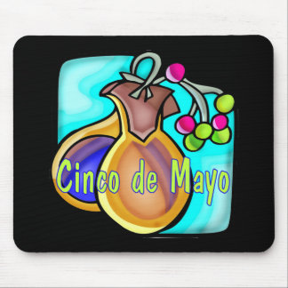 Cinco de Mayo T-shirts and Gifts Mouse Pad