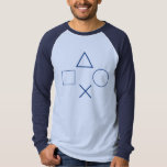 Circle, X, Square, and Triangle Tee
