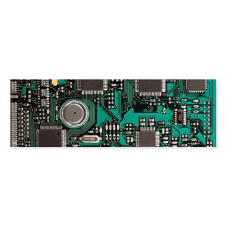 Circuit board pack of skinny business cards