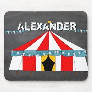 Circus Party Gifts Mouse Pad