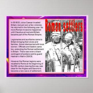 Citizenship, Immigration, Roman Settlers Poster