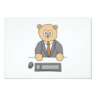City Worker Professional. 9 Cm X 13 Cm Invitation Card
