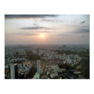 Cityscape of Hoi Chi Mihn (Saigon) from Sky Tower Postcard