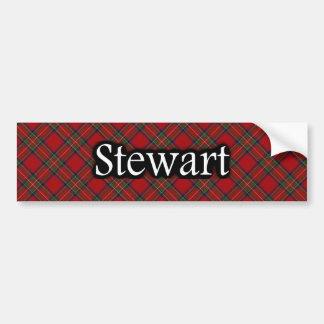 Clan Stewart Tartan Bumper Sticker