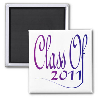 Class Of 2011 Square Magnet